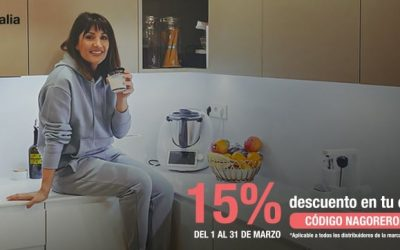 ¡Consigue un 15% de descuento en tu Cocina Antalia con Nagore Robles!