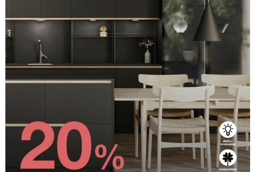 Consigue un 20% de descuento en mobiliario Antalia